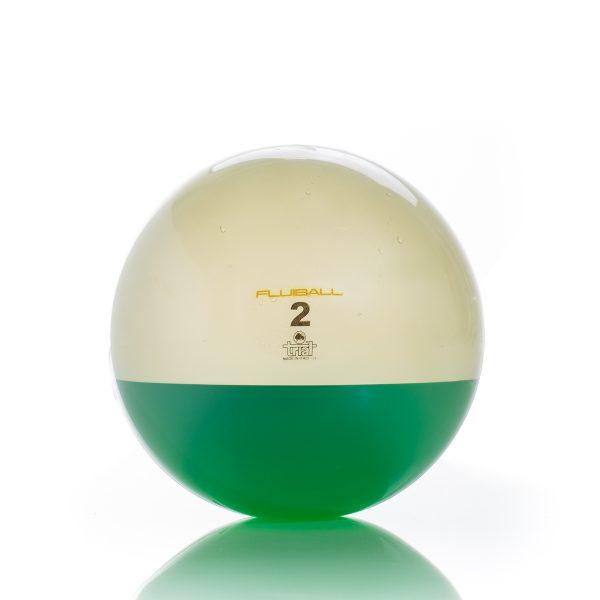 Evoluzione di una palla medica con l'aggiunta di un carico dinamico dato dal liquido presente all'interno.