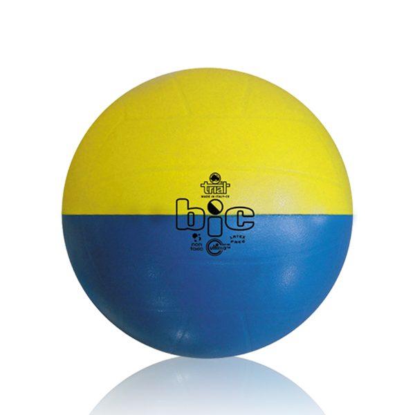 Pallone bicolore per l'apprendimento delle abilitö tecniche nel volley