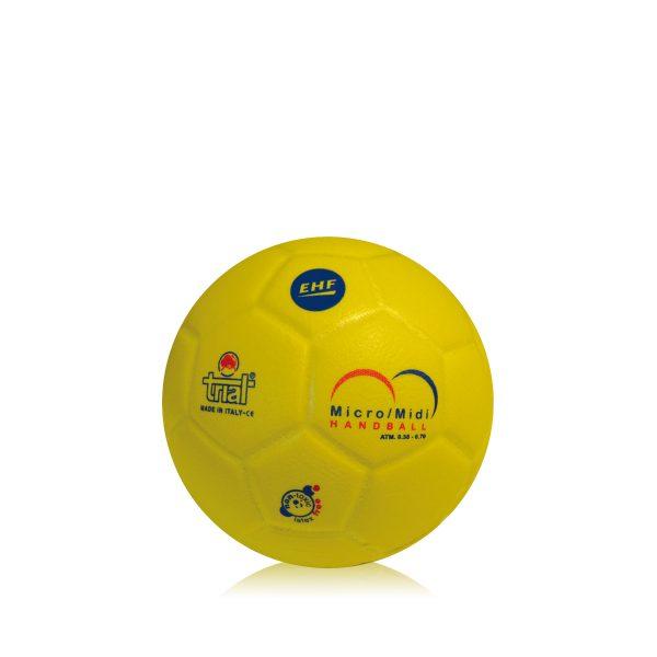 Il pallone leggero per il mini e midi handball