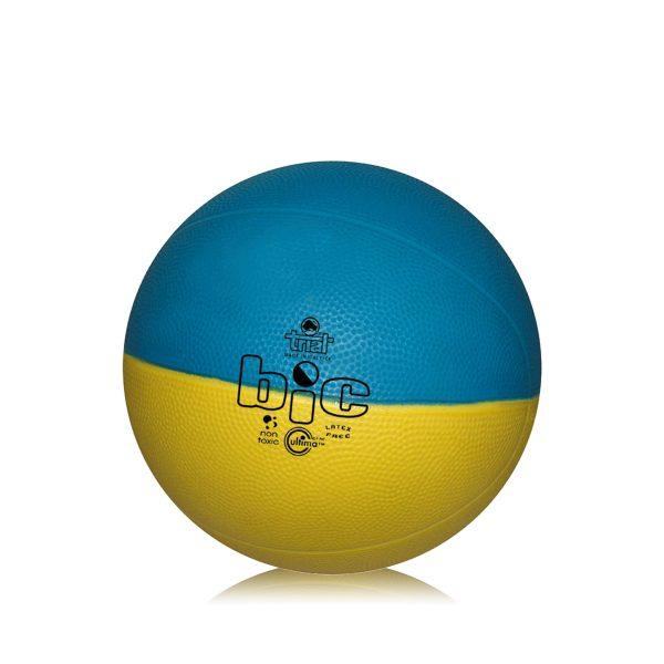 Pallone bicolore per l'apprendimento delle abilità tecniche nel basket size 7