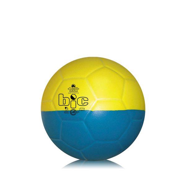 Pallone bicolore per l'apprendimento delle abilità tecniche nella pallamano Junior