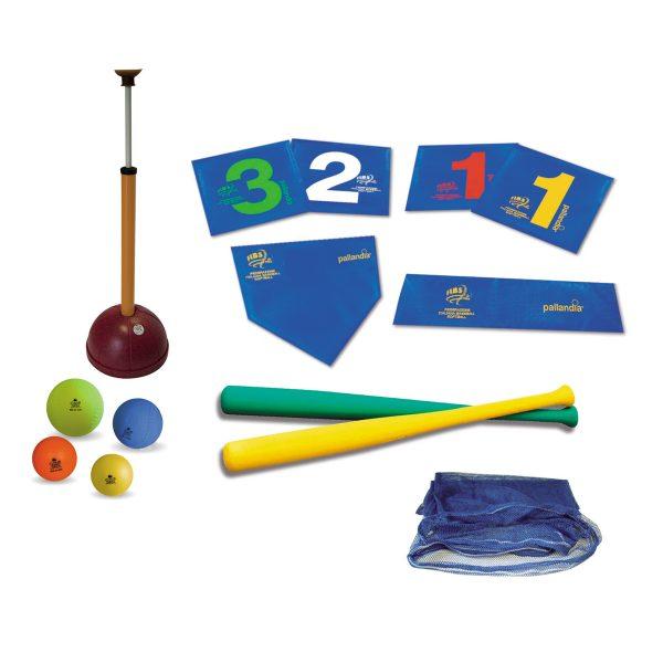 Kit ideale per l'avviemento al gioco del baseball