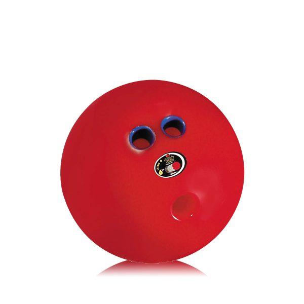 Palla da Bowling dotata di doppia impugnatura