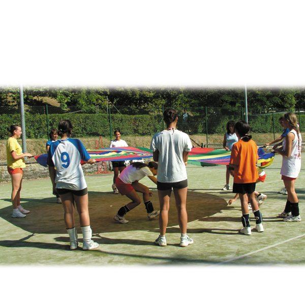 Telone in nylon per giochi di gruppo e terza età